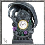 Stunning Dragon Beauty Clock by Anne Stokes Nemesis Now